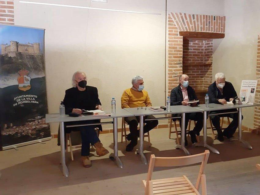 """Presentación del libro de Dionisio Dégano Morcillo titulado """"El pícaro del camino real de Guadalupe"""""""