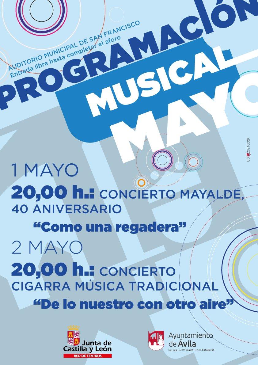 Concierto de Mayalde y Cigarra en Ávila