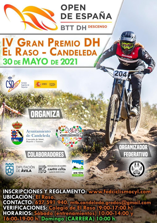 IV Gran Premio DH de El Raso de Candeleda el 30 de mayo de 2021