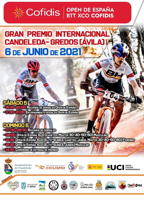 Gran Premio Internacional Candeleda-Gredos el 6 de junio de 2021