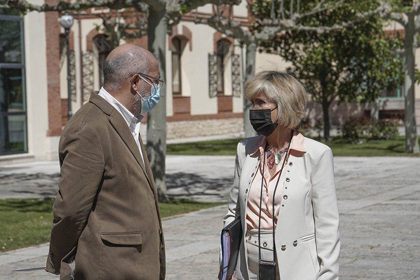 Francisco Igea y Verónica Casado - Junta de Castilla y León