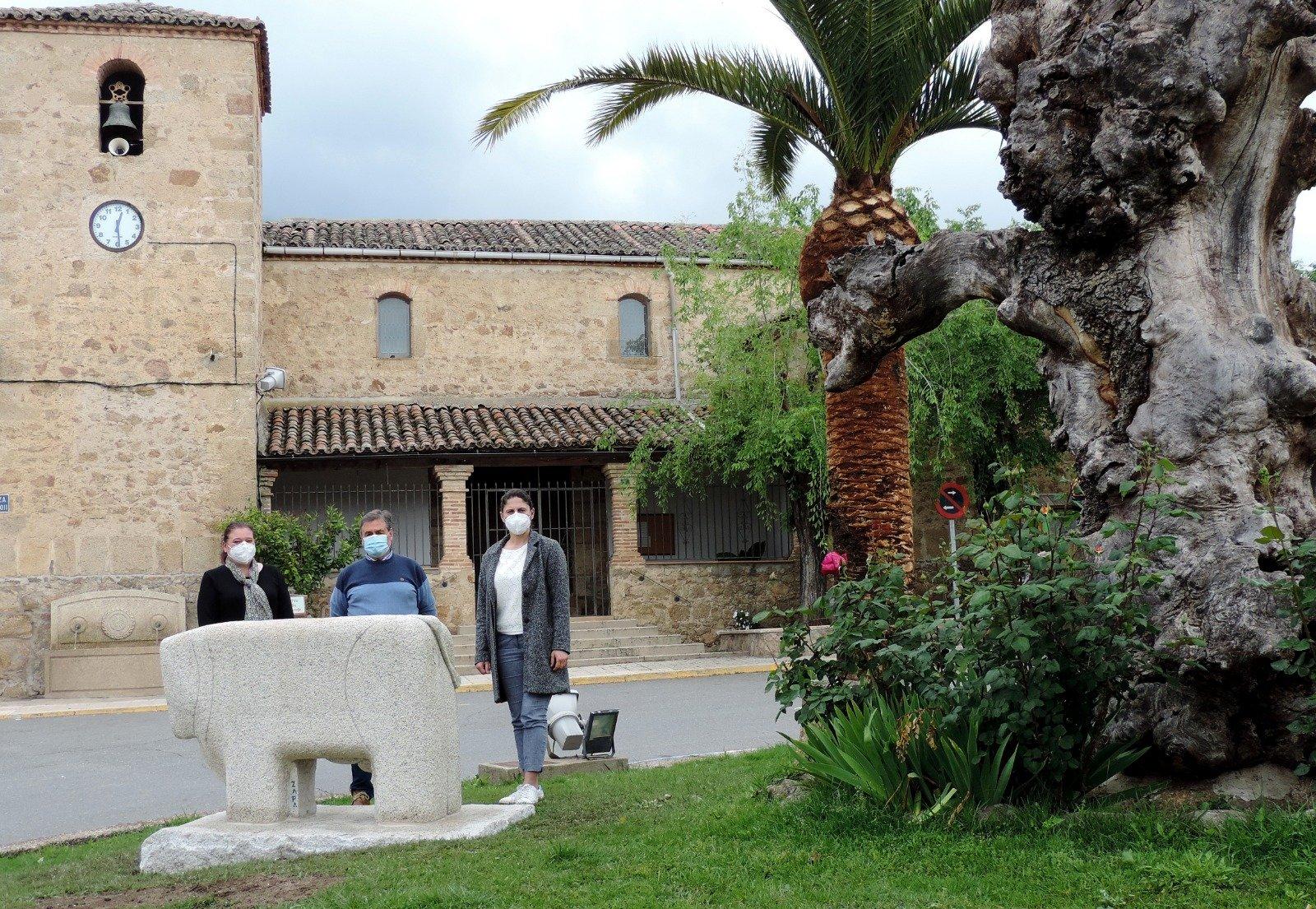 Verraco Vettón en El Raso de Candeleda, cerca de el Castro Vettón.