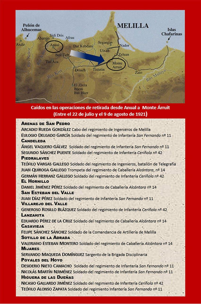 """Contraportada del libro """"Los 18 del Tiétar"""" de Severiano Gil"""