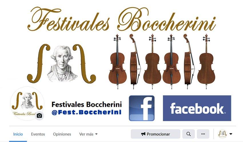 Página en Facebook de los Festivales Boccherini