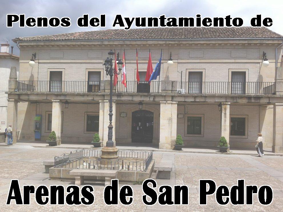 Plenos del Ayuntamiento de Arenas de San Pedro