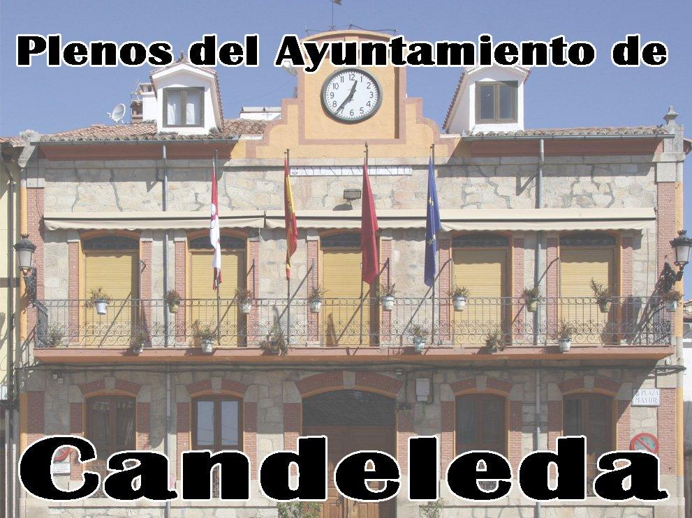 Pleno de constitución del Ayuntamiento de Candeleda el 15 de junio de 2019.