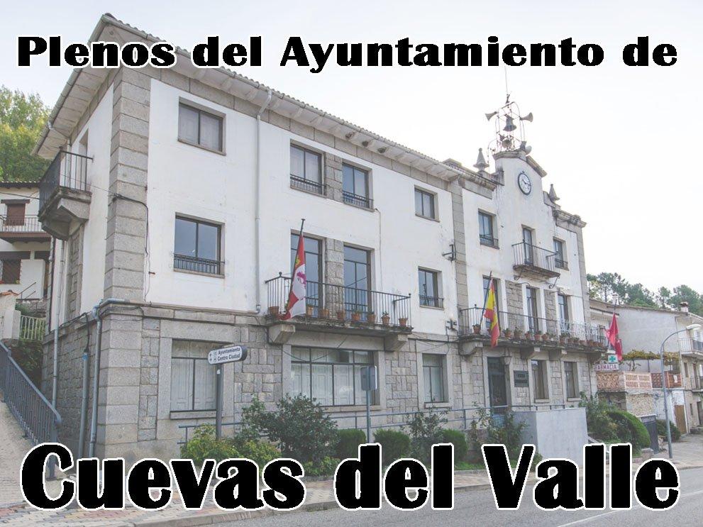 Plenos del Ayuntamiento de Cuevas del Valle