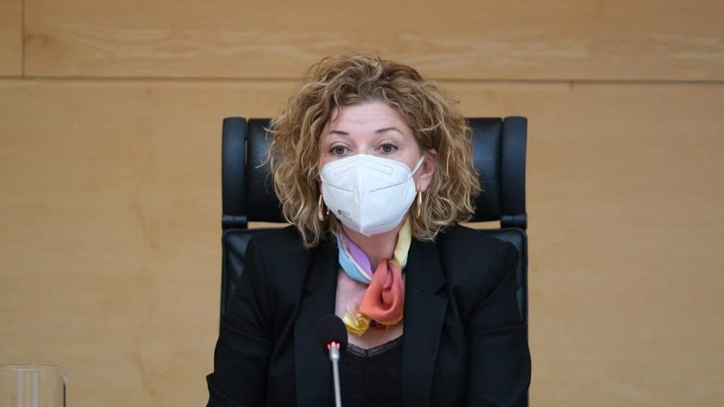 Soraya Blázquez, procuradora del PSOE en las Cortes de Castilla y León