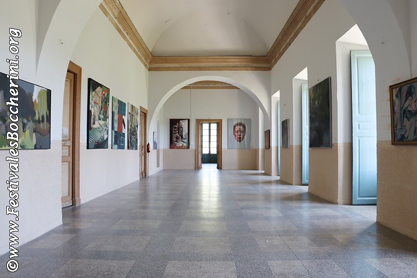 Salón Boccherini del Palacio del Infante don Luis de Borbón (o Palacio de La Mosquera) de Arenas de San Pedro - XIV Festival Boccherini