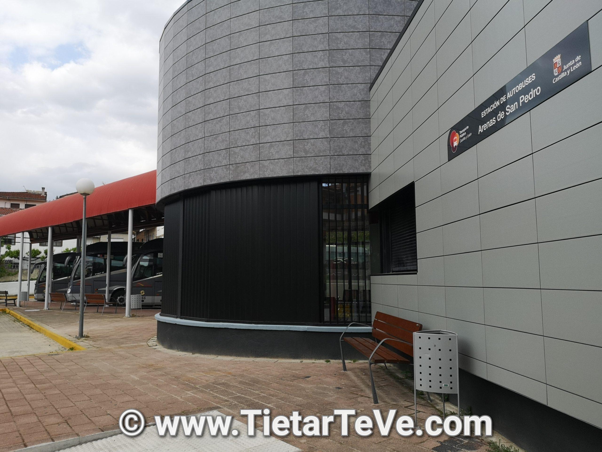 Nueva estación de autobuses de Arenas de San Pedro