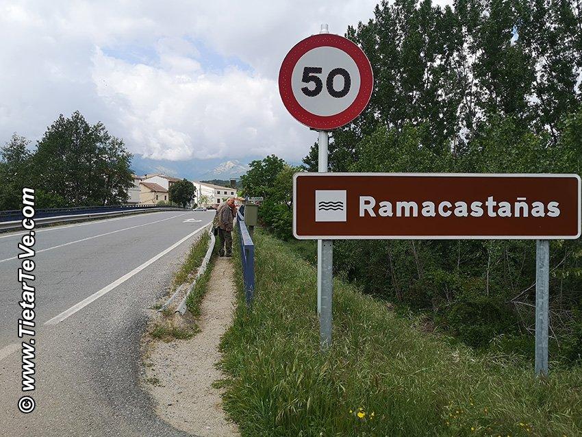 Punto (16) - Cruzando el Río Ramacastañas por la N-502