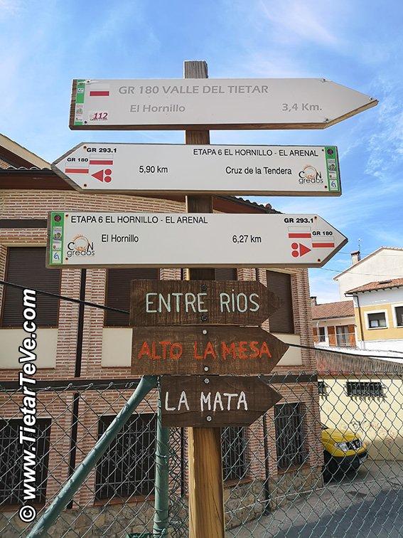 Señalética en El Arenal - Ruta Entre Ríos