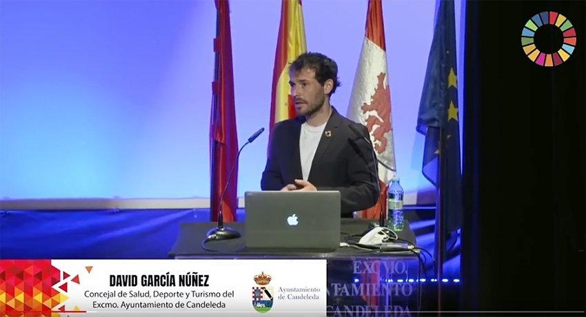 """David García Núñez, concejal de deporte del Ayuntamiento de Candeleda - Parque Deportivo Natural """"Candeleda - Gredos"""""""