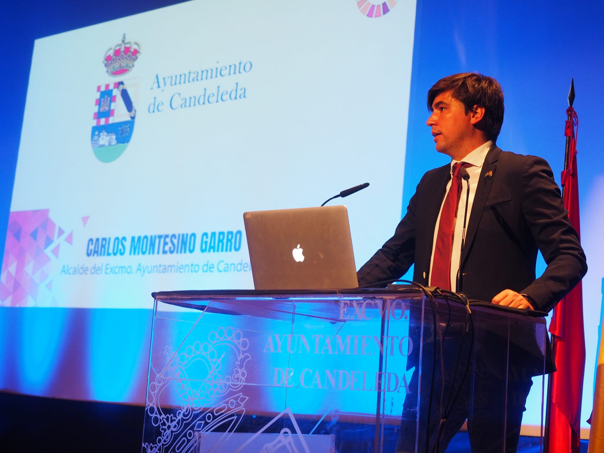 Carlos Montesino Garro, alcalde de Candeleda