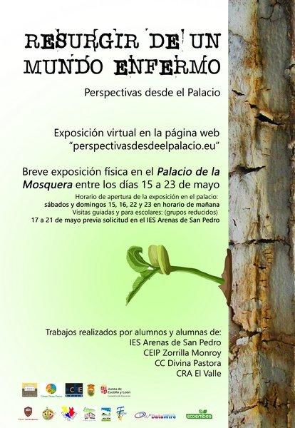 Perspectivas desde el Palacio - Resurgir de un mundo enfermo - Exposición 2021 - Arenas de San Pedro