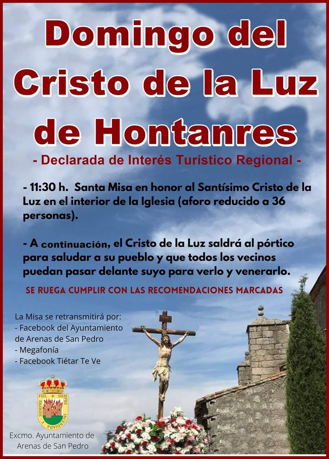Domingo del Cristo de La Luz de Hontanares 2021
