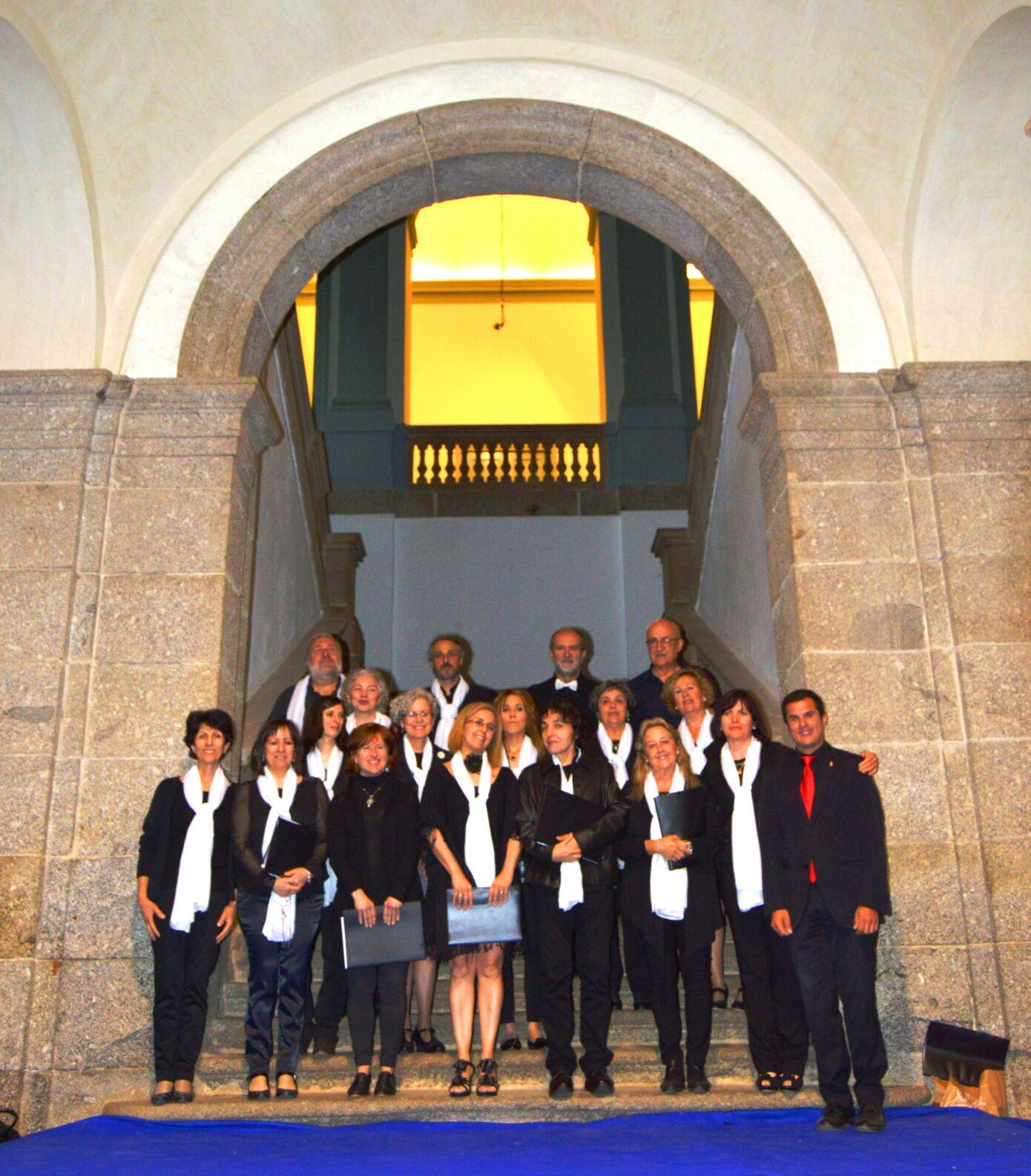"""Coro de la E.M.M. """"Luigi Boccherini"""" de Arenas de San Pedro"""