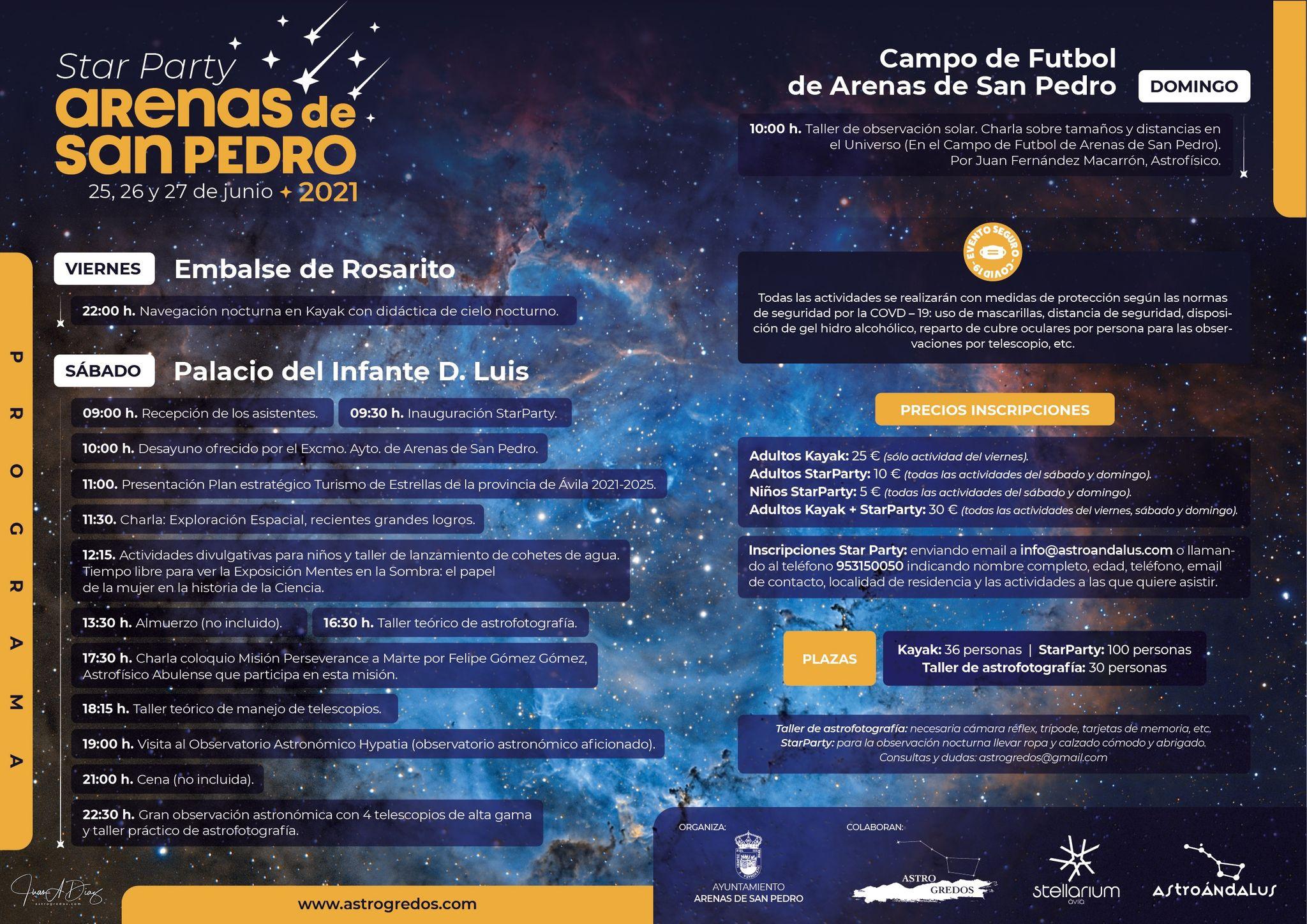 Star Party en Arenas de San Pedro
