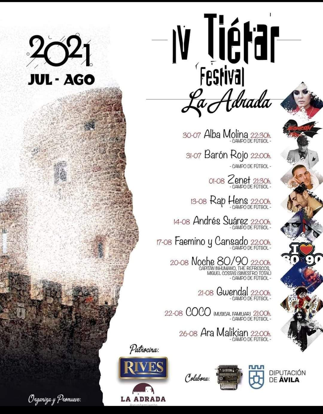 IV Tiétar Festival en La Adrada