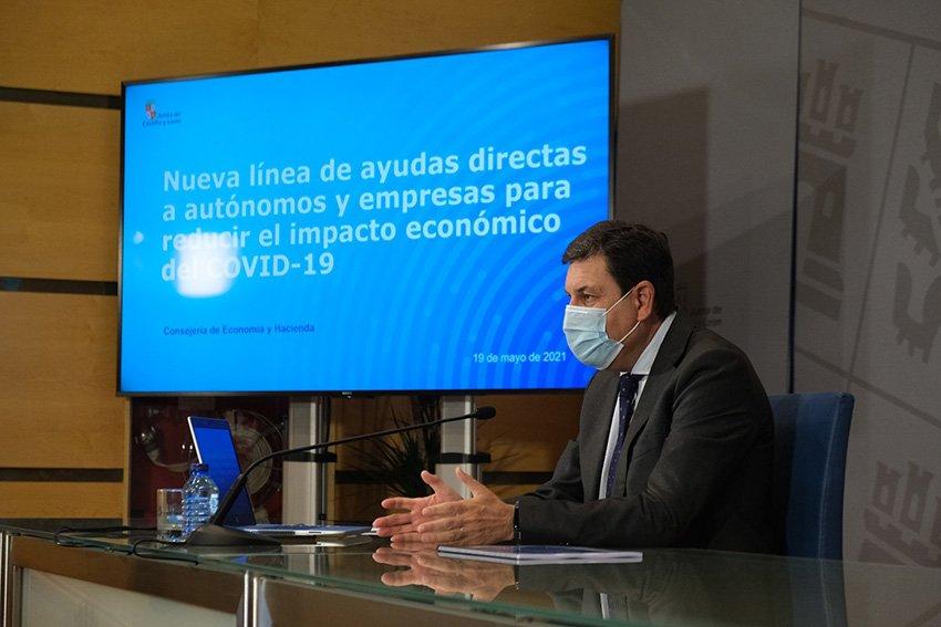 Consejero de Economía y Hacienda de la Junta de Castilla y León, Carlos Fernández Carriedo