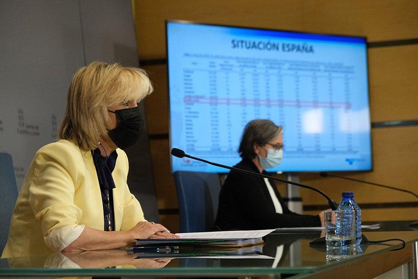 Consejera de Sanidad de la Junta de Castilla y León, Verónica Casado