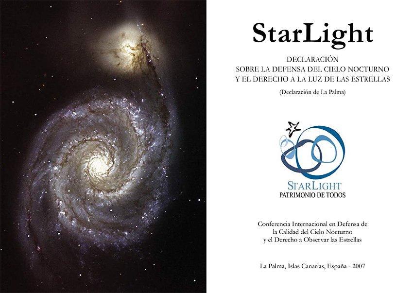 Declaración sobre la defensa del cielo nocturno y el derecho a la luz de las estrellas