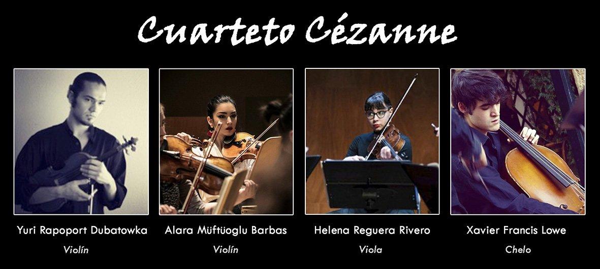 Cuarteto Cézanne - XIV Festival Boccherini - Arenas de San Pedro