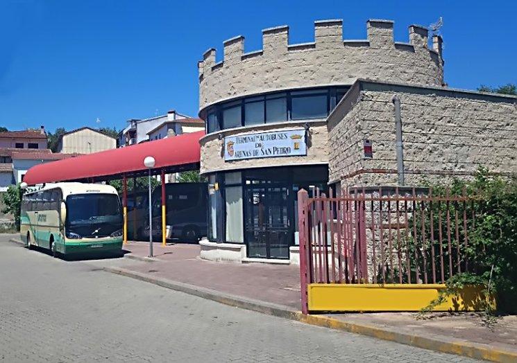Antigua estación de autobuses de Arenas de San Pedro