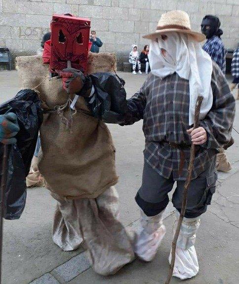 Los Morrangos de El Hornillo - Mascaradas de Ávila