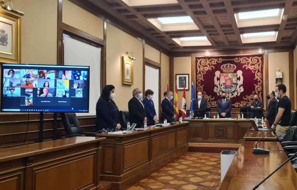 Pleno del 1 de mayo de 2021 de la Diputación Provincial de Ávila