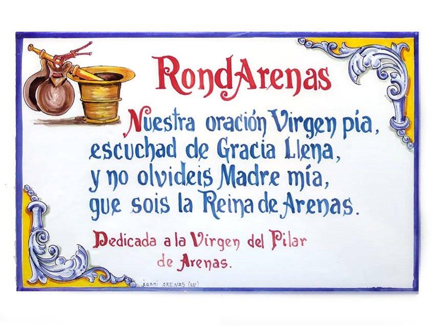 Placa RondArenas