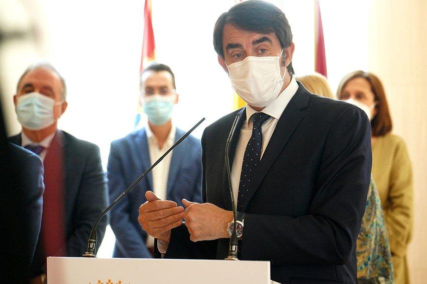 Consejero de Fomento y Medio Ambiente, Juan Carlos Suárez-Quiñones