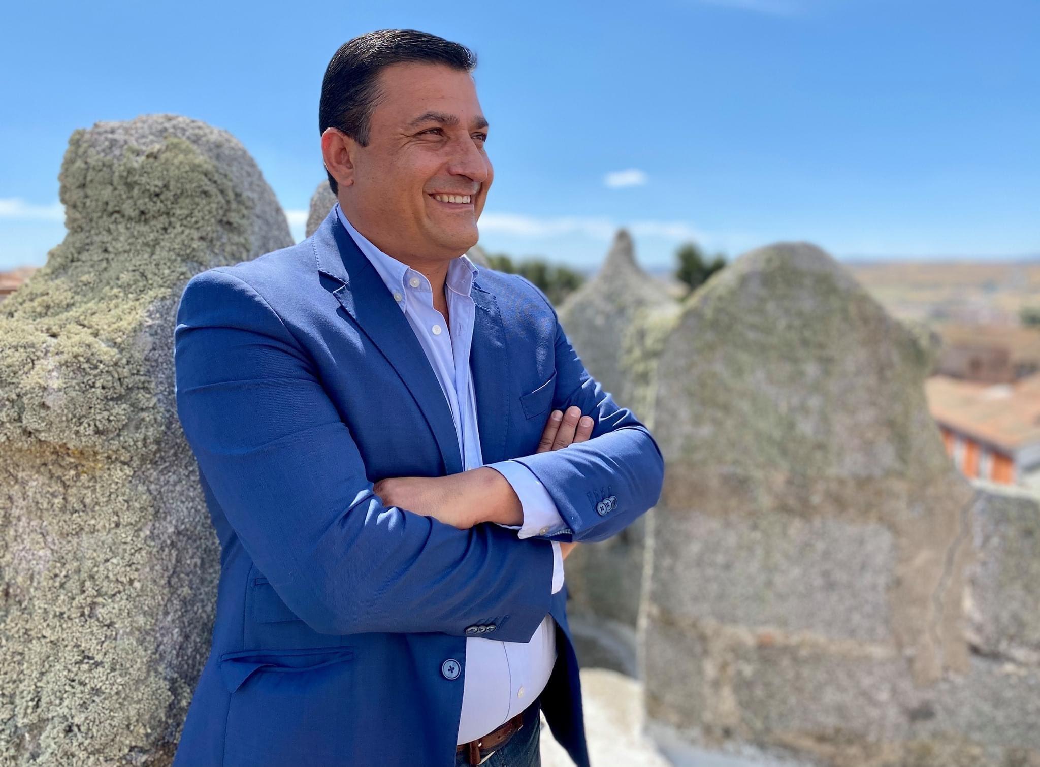 Carlos García, presidente de Diputación de Ávila. Fuente: Cuenta en Twitter https://twitter.com/CarlosGarcia_PP