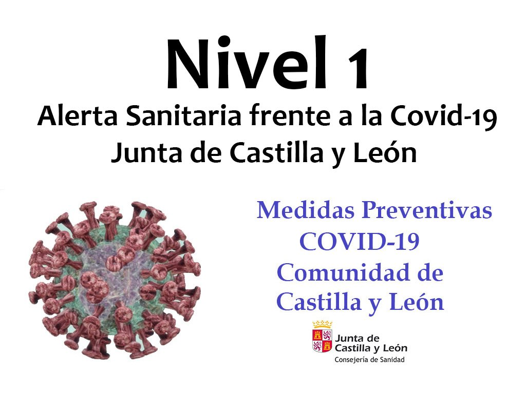Nivel 1 Medidas Preventivas Covid-19 JCyL