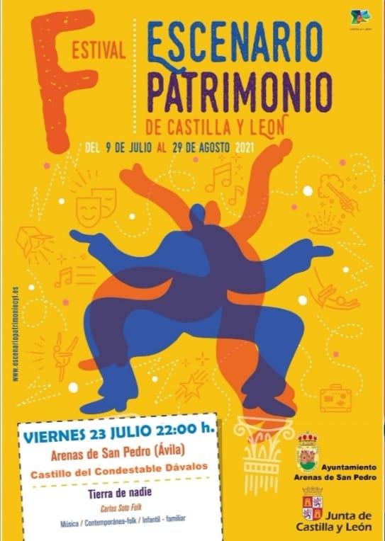 """Concierto de """"Carlos Soto Folk"""" de Escenario Patrimonio en Arenas de San Pedro"""