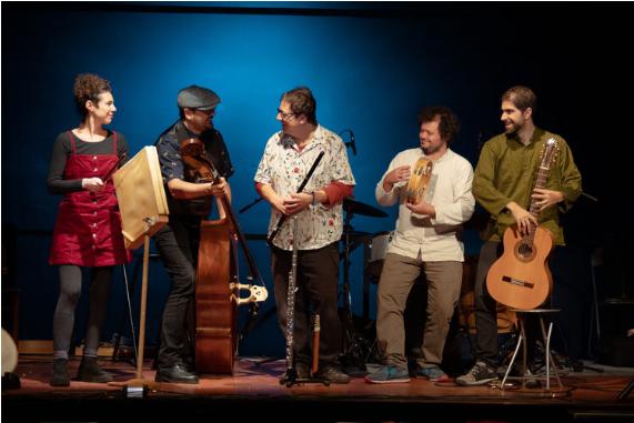 Carlos Soto Folk Sextet en el Festival 'Escenario Patrimonio' de Castilla y León
