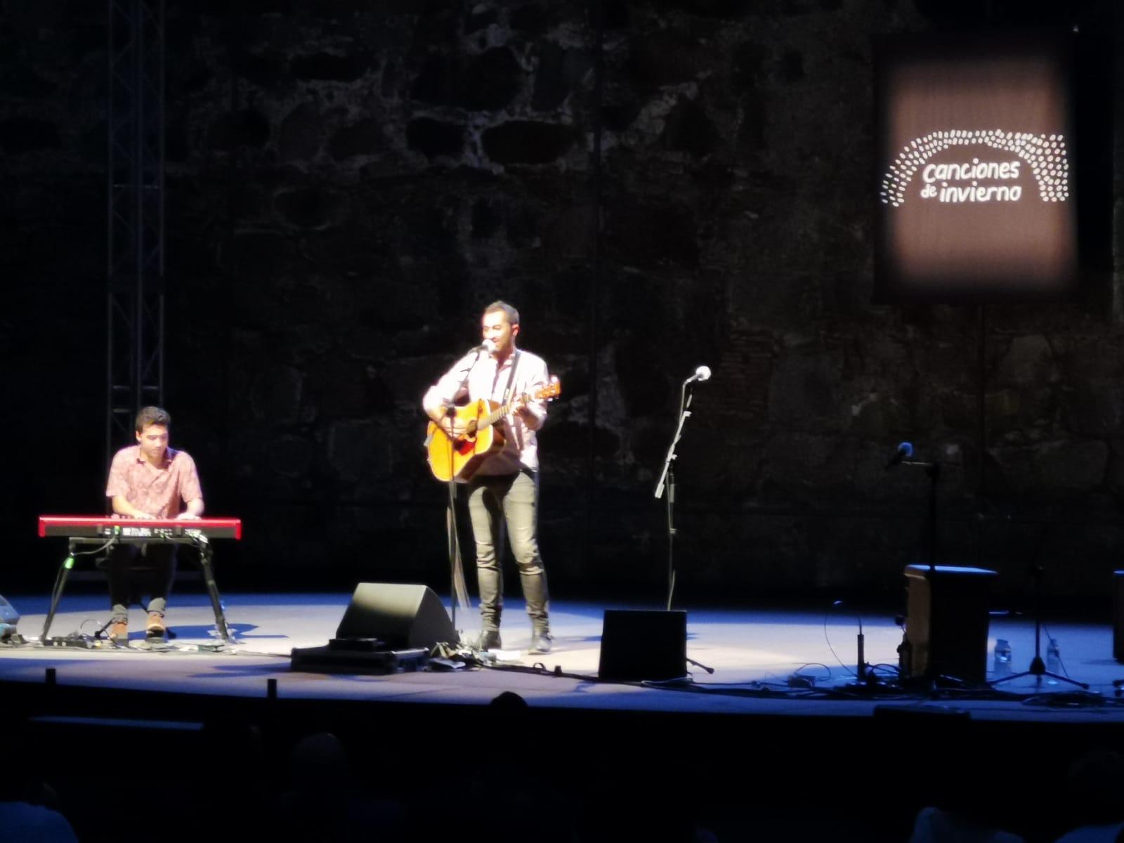 """David Castro en """"Canciones de Invierno"""" - Arenas de San Pedro"""