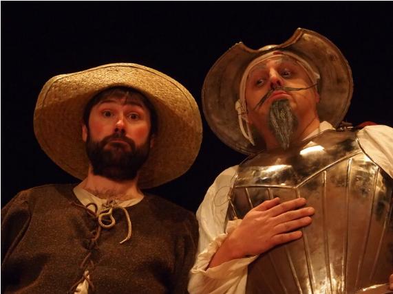 'Instantes con Cervantes' por Kamaru Teatro en el Festival 'Escenario Patrimonio' de Castilla y León