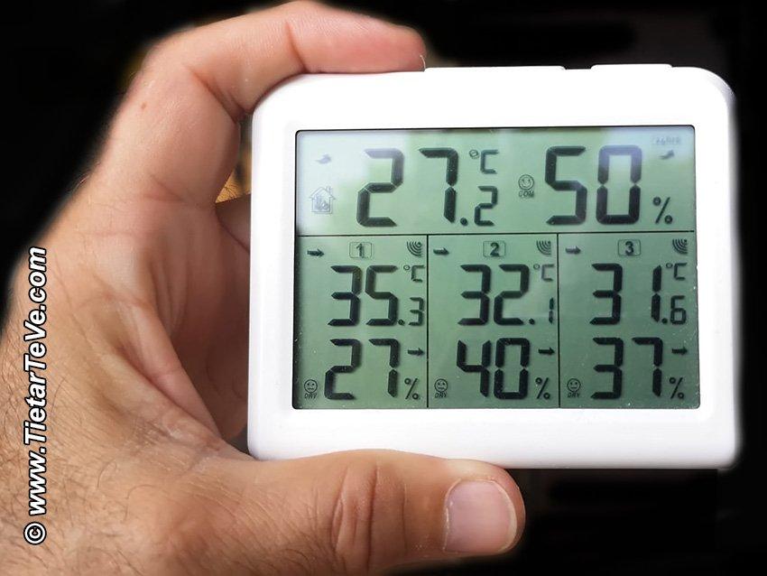 Temperatura en Arenas de San Pedro a las 19:30h del miércoles 11 de agosto de 2021