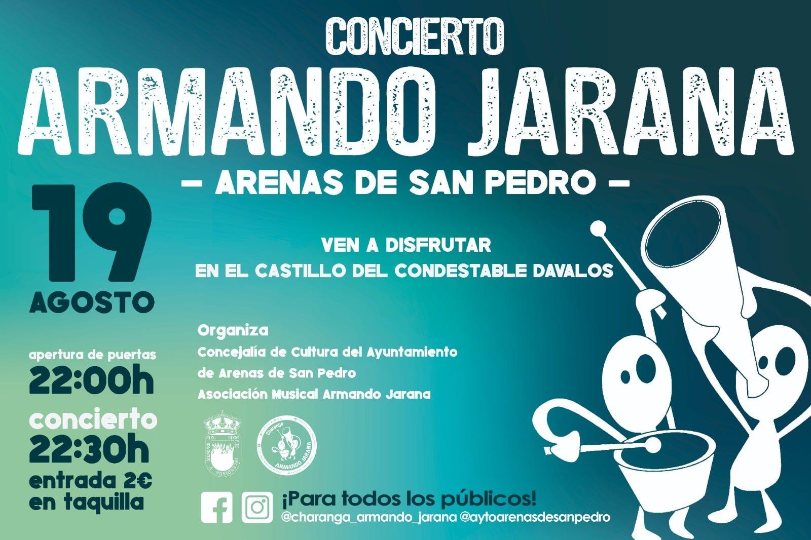 """Charanga """"Armando Jarana"""" en Arenas de San Pedro"""