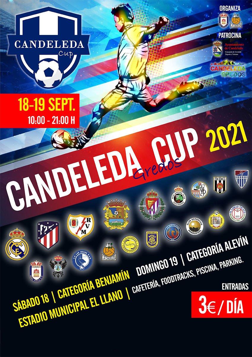 Candeleda celebrará la I Candeleda Cup de fútbol base de categoría benjamín y alevín el 18 y 19 de septiembre de 2021, con 32 equipos participantes.