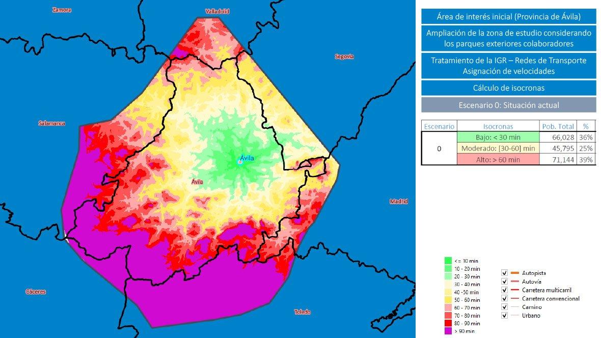 Situación actual en relación con los tiempos de respuesta ante incendios antes de la construcción de los Parques de Bomberos en la provincia de Ávila